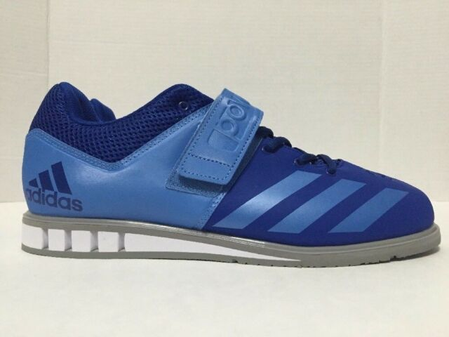 7e26c648e35 Adidas Powerlift 3.03 Weightlifting Shoes Royal Blue BA9176 Mens Size  11-12.5