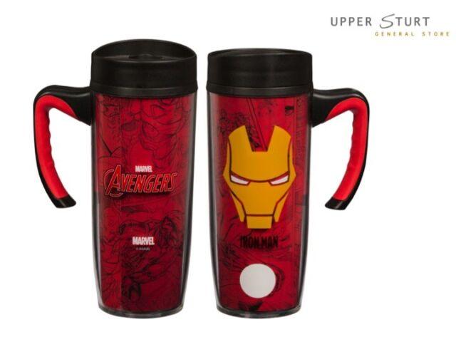 Iron Man Handle Travel Mug