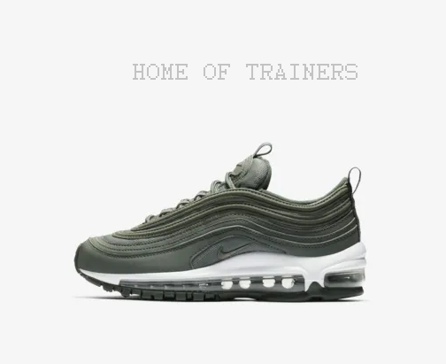 finest selection 0ff62 e3777 Nike Air Max 97 PE PE PE Mineral Spruce Pale Ivory Clay Grün Girl Trainers  All Größes 0e63e8