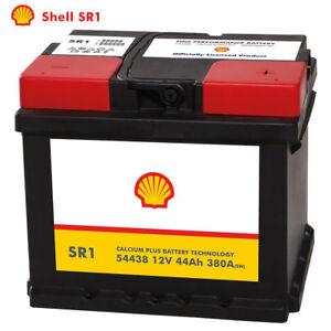 Shell-SR1-Autobatterie-12V-44AH-Starterbatterie-ersetzt-36Ah-40Ah-45Ah-46Ah
