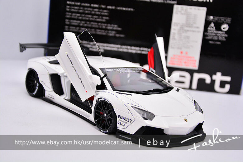 AUTOart 1 18 Lamborghini LP700 AVENTADOR LB blanc
