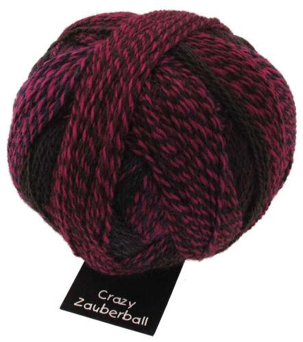 100 gr  ZAUBERBALL CRAZY Sockenwolle von Schoppel alle Farben
