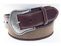 Nocona Top Hand Basic Leather Western Belt 1-1/2 Inch