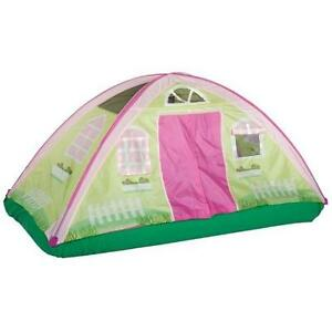 Pacific Play Tents Kids Cottage Bed Tent Playhouse - Twin ...