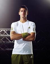 Novak Djokovic 10 x 8 firmata FOTO-P28-record Breaking TENNIS Player