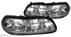 new replacement headlight assembly pair for 1997 03. Black Bedroom Furniture Sets. Home Design Ideas