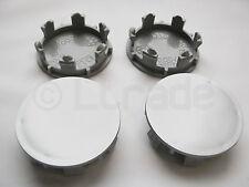 4x Nabenkappen Felgendeckel Nabendeckel Ø 70mm-67mm Silber Felgenkappen NEU