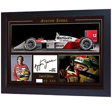 303a1c8ea70 Ayrton Senna signed autographed photo print F1 World Champion McLaren Honda   007