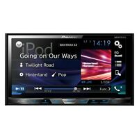 Pioneer Double 2 Din Avh-x490bs Dvd/cd Player 7 Bluetooth Touchscreen Aux Usb