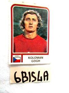 CAMPIONATO DEL MONDO ARGENTINA 78 FIG. PANINI N°343 KOLOMAN GOGH (6BIS4A)