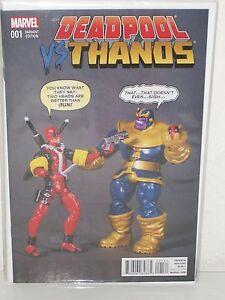 Marvel 2015 NM Deadpool Vs Thanos #1 Action Figure Variant