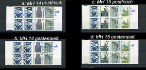 Berlin-MH-14-15-gestempelt-postfrisch-bitte-auswaehlen-e364
