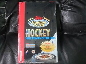 1993-94-Stadium-Club-Series-1-Hockey-Factory-Sealed-Box-S-24-packs