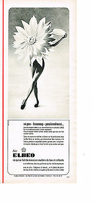 Other Breweriana Publicite Advertising 024 1969 Elbeo Bas & Collants Collectibles