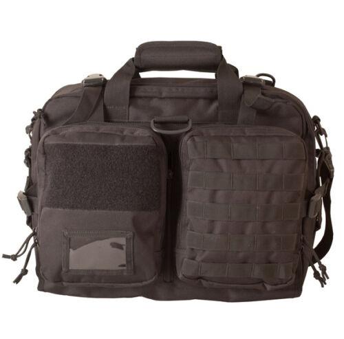 Mens militaires Combat armée voyage sac bandoulière sac à dos jour Pack Messenger noir