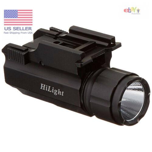 Details about  /aimkon hilight p10s 500 lumen pistol led strobe flashlight with weaver quick rel