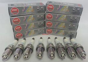 8-NGK IFR5N10 Laser Iridium Long-Life Spark Plug Pre-Gapped Land Rover /& Jaguar