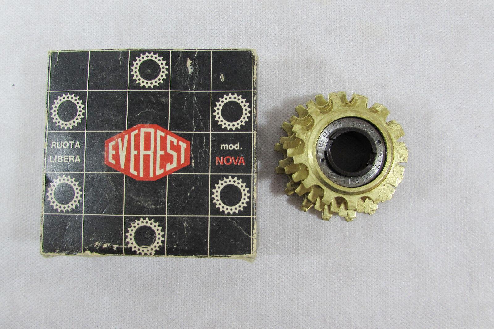 Vintage NOS EVEREST STAR gold 5s 13-17  crono & road FREEWHEEL ,Mint  Nova Box  outlet factory shop