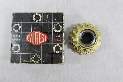 Vintage Nos Everest Star Oro 5s 13-17 Crono & Road Freewheel Nova Box Drip-Dry mint