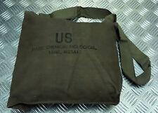 Genuine Vintage US Army M25 Gas Bag Tank  Shoulder / Side Bag / Attache  - NEW