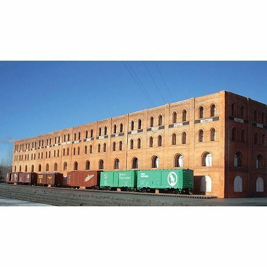 DOWNTOWN DECO N SCALE SHIPPING WAREHOUSE FLAT   BN   2010