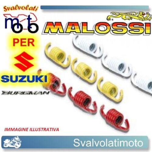 SERIE MOLLE FRIZIONE MALOSSI SUZUKI BURGMAN 400 2008 2914484