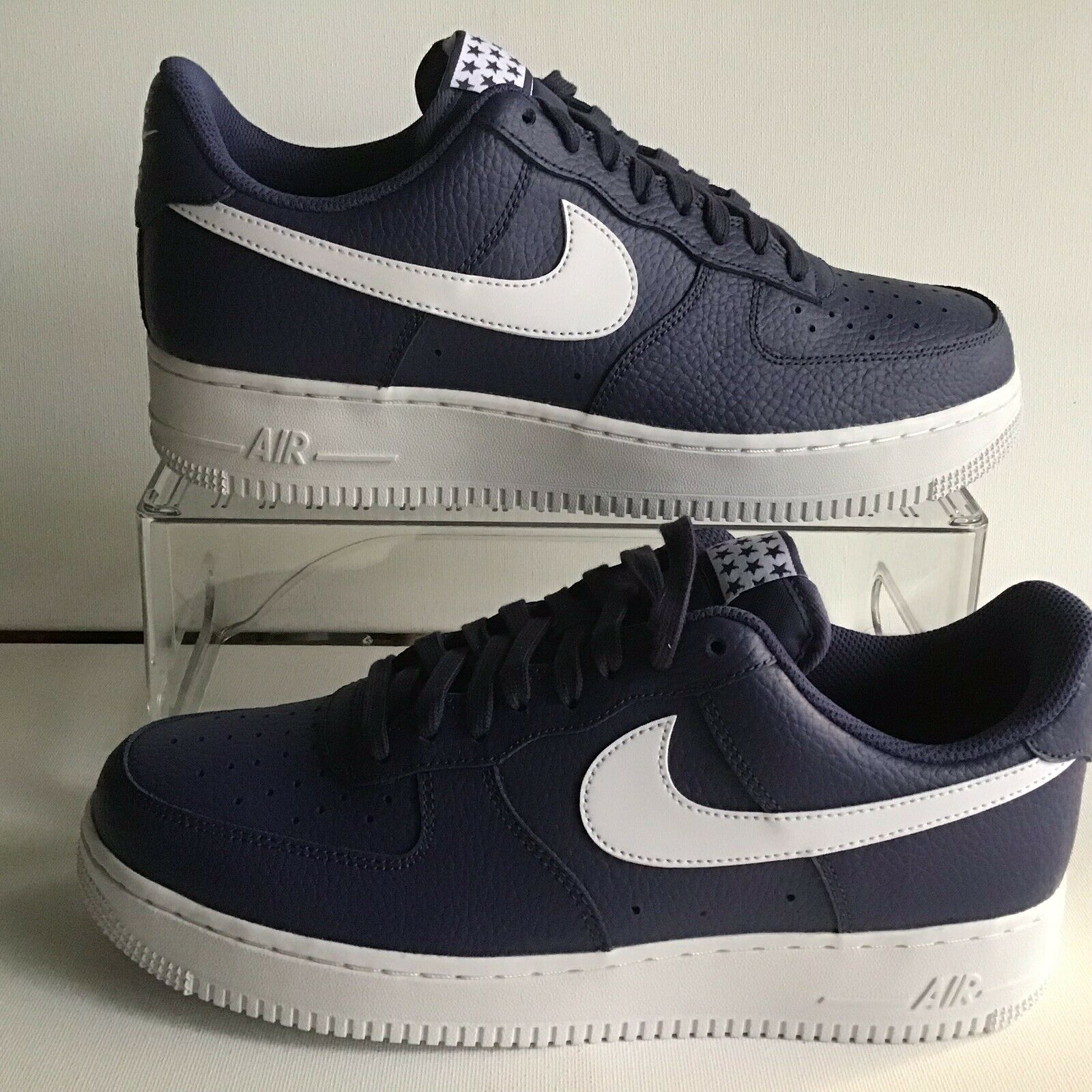 Nike Air Force 1 '07 Low  bluee Recall White Mns.Sz.9=Wmns.10.5 (AA4083 401)