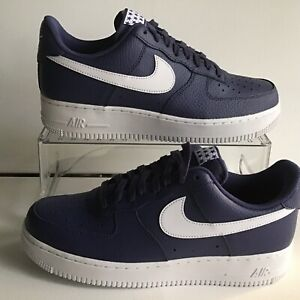 05066d21fea Nike Air Force 1 '07 Low Blue Recall White Mns.Sz.9=Wmns.10.5 ...
