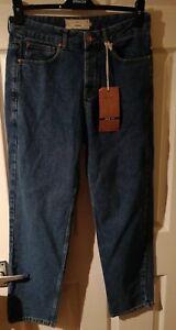 100% De Qualité Next Homme Tapered Bleu Denim Jeans Taille 32r Bnwt