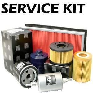 Renault-Clio-Mk2-1-2-16v-Gasolina-00-05-aceite-combustible-y-filtro-de-aire-Kit-de-servicio