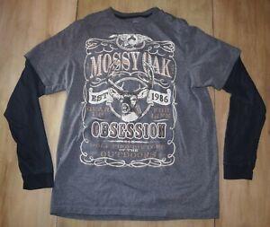 MOSSY OAK Manches Longues Chasse Chemise Taille M T-shirt REALTREE-afficher le titre d`origine lQTvZjMn-07154830-732557322