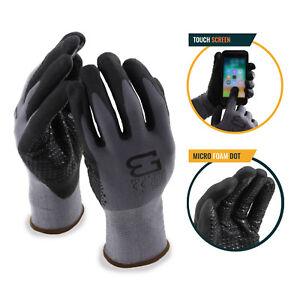 Better-Grip-Flex-BGFLEXDOT-Micro-Foam-Work-Gloves-with-Dots-For-Smart-Phone