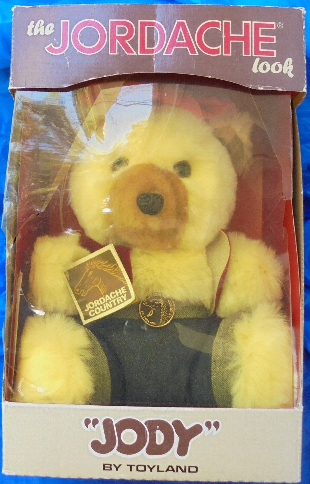 The Jordache Look Jody Toyland MIP MIB Rare Country Bear Stuffed Toy 1981 VTG