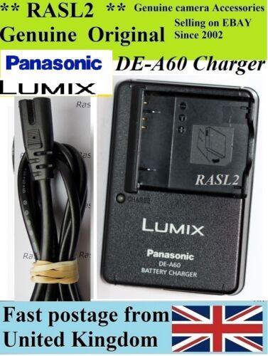 Cargador Original Panasonic Lumix DE-A60 DMW-BCF10e FS12 FT4 TS2 FS22 FS9 FS6