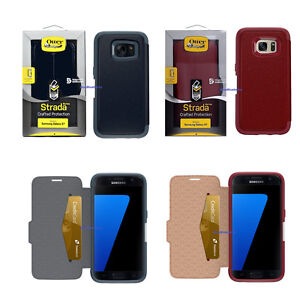 New-OtterBox-Strada-Series-Leather-Wallet-Case-Samsung-Galaxy-S7