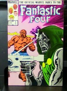 Marvel Comics Presents: Official Marvel Index to the Fantastic Four, Feb. 1986
