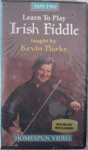 Learn To Play Irish Fiddle Tape Two NEW Video