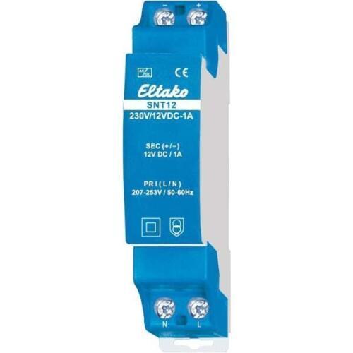 Eltako Schaltnetzteil SNT12-230V//12VDC-1A IP20 Gleichstromversorgung 20000160