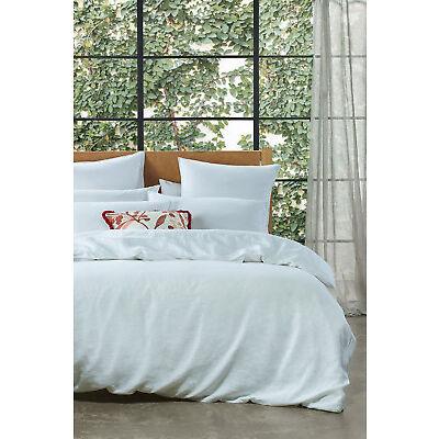 NEW Australian House & Garden Sandy Cape Quilt Cover Range in White