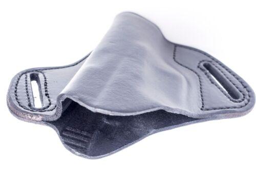 MADE IN USAFull Grain Leather OWB Pancake Belt Holster for Glock 27 G27