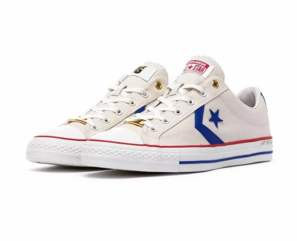 Converse Star Player OX intangibles THINK 16 Blanc PARCHHommesT 161409 C sz 10.5