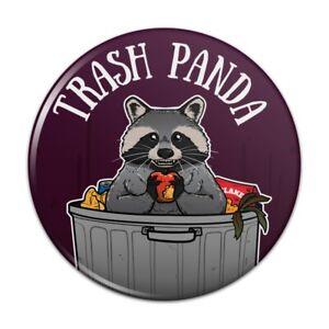 TRASH pinback button