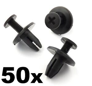 50x Honda Interior Trim Clips for Interior Fascia Panels /& Boot Linings