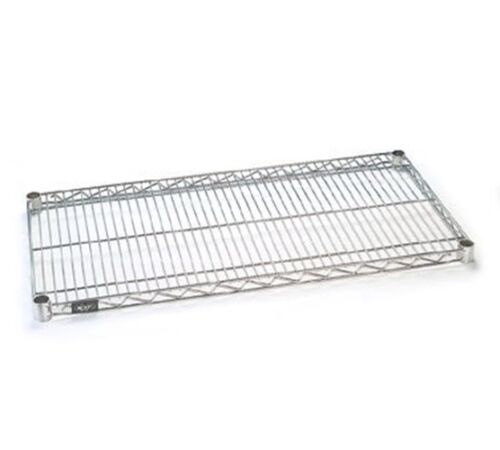 "Chrome Finish Nexel  Wire Shelf 24/""W x 60/""L"