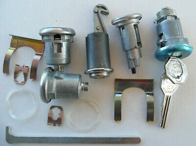 Lock Set Chevelle 66 Door Ignition Trunk Deck Lid Glovebox Early Key 148a 104a