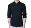 Fashion-Men-Flax-Long-Sleeve-Slim-Fit-Shirt-Casual-Mandarin-Collar-Top-Tee-Shirt thumbnail 13