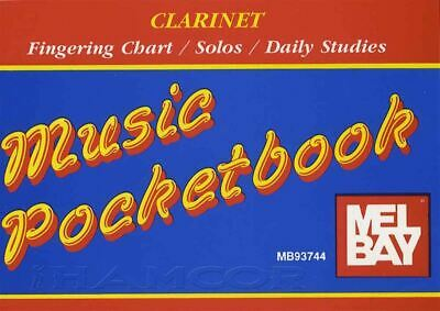 Competent Music Pocketbook Clarinet Fingering Chart/solos/daily Studies Same Day Dispatch 100% Garantie