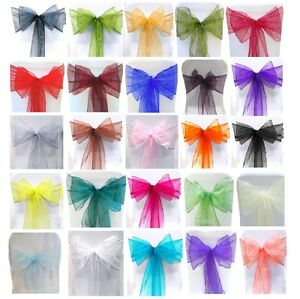 ORGANZA-SASHES-CHAIR-COVER-BOW-SASH-WIDER-SASHES-FOR-A-FULLER-BOW-UK-SELLER
