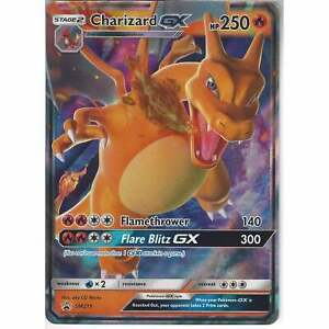 Pokemon-SM211-Charizard-GX-Hidden-Fates-Black-Star-Tin-Promo-Card-Holo-Rare