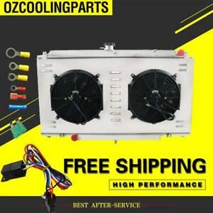 3Row-Radiator-For-Nissan-Patrol-GU-Y61-TD42-3-0-4-2L-Diesel-MT-Shroud-Fan-Relay